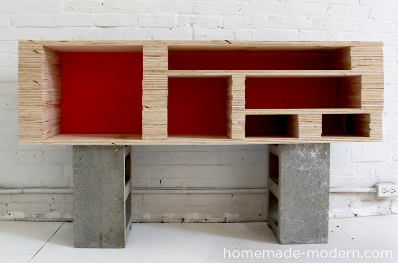 HomeMade Modern DIY EP2 Media Console Step 5. EP2 Plywood Media Console   HomeMade Modern