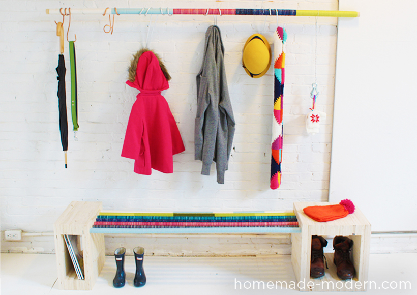 HomeMade Modern DIY EP7 Colorful Mudroom Options