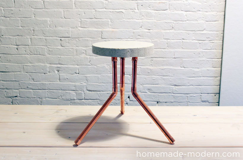 HomeMade Modern DIY EP8.1 Cake Pan Stool Options