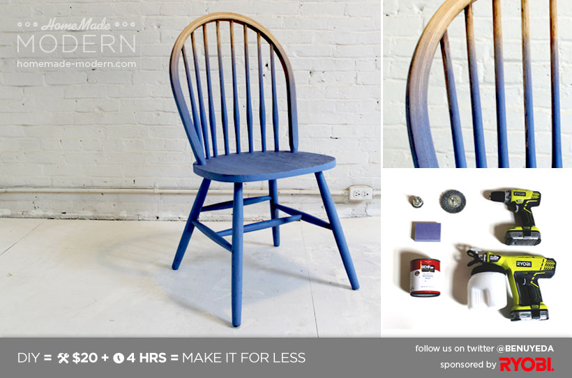 HomeMade Modern DIY EP5.1 Ombré Chair Postcard
