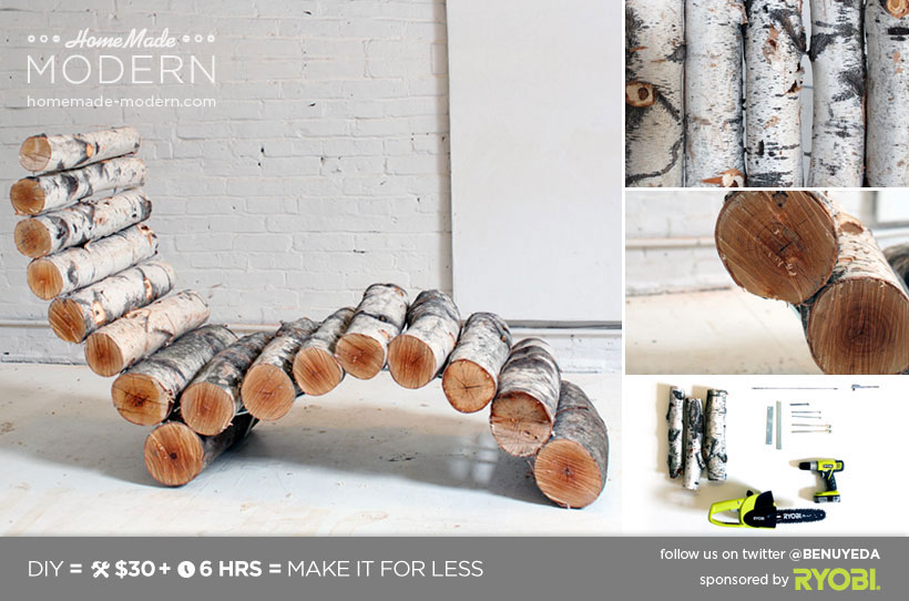 Surprising Homemade Modern Ep14 Log Lounger Download Free Architecture Designs Embacsunscenecom