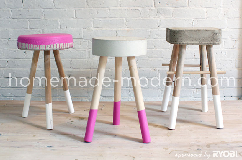 HomeMade Modern DIY EP8 $5 Bucket Stool Postcard