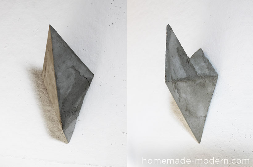Homemade Modern Ep12 Faceted Concrete Hooks