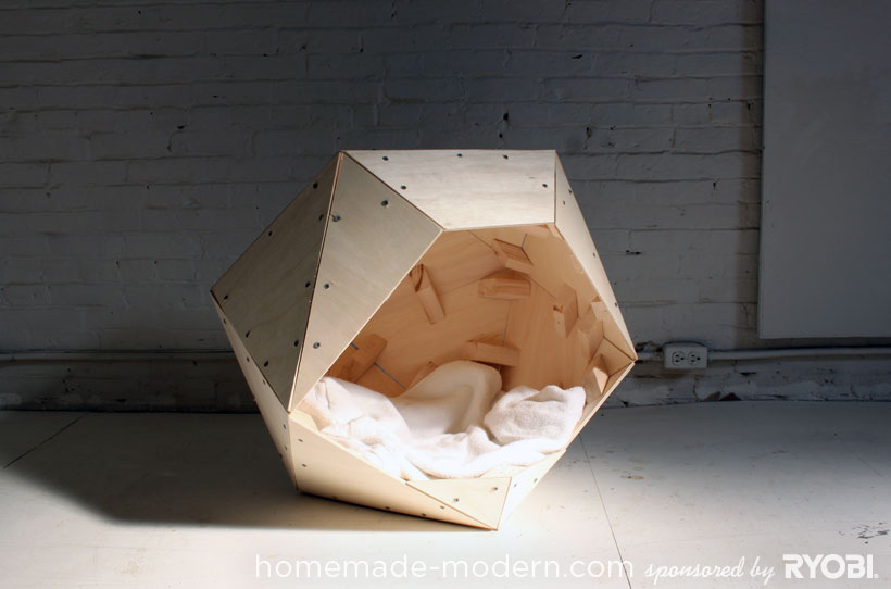 HomeMade Modern DIY EP13 Geometric Doghouse Options