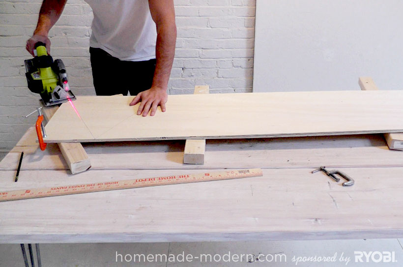 HomeMade Modern DIY EP13 Geometric Doghouse Step 3
