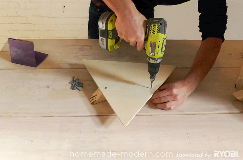 HomeMade Modern DIY EP13 Geometric Doghouse Step 6
