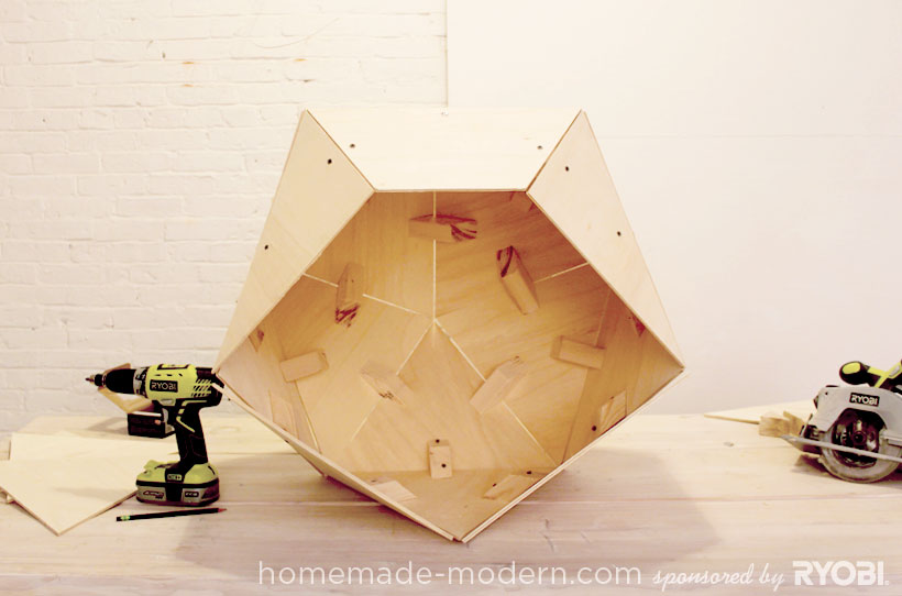 HomeMade Modern DIY EP13 Geometric Doghouse Step 7