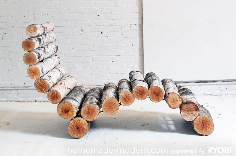 Log Lounger by HomeMade Modern
