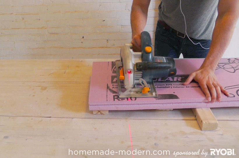HomeMade Modern DIY EP16 Concrete Planter Step 1