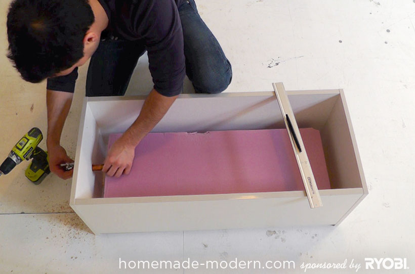 HomeMade Modern DIY EP16 Concrete Planter Step 2