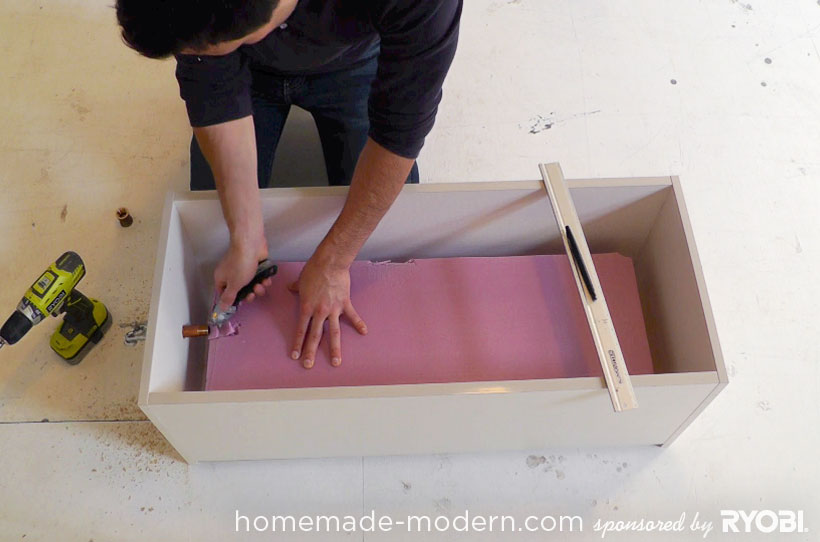 HomeMade Modern DIY EP16 Concrete Planter Step 3