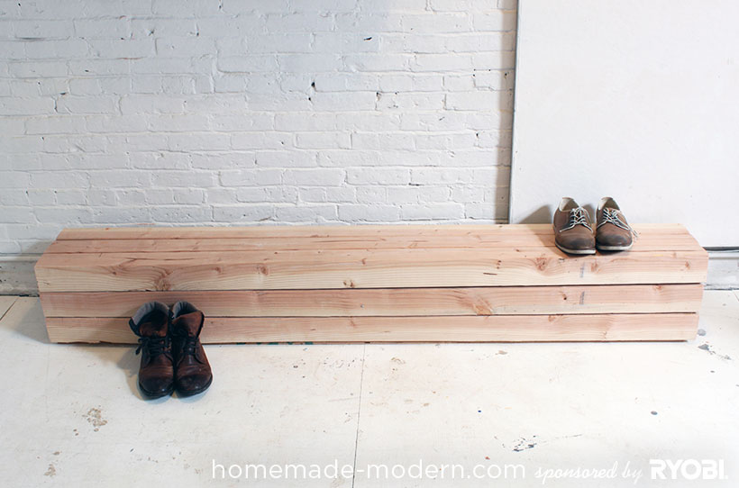 HomeMade Modern DIY EP17 Modern Rustic Mudroom Options