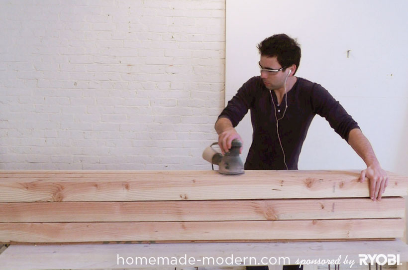 HomeMade Modern DIY EP17 Modern Rustic Mudroom Step 5