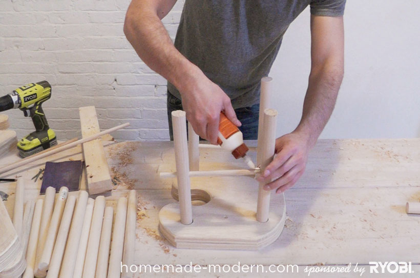 HomeMade Modern DIY EP18 Puzzle Stool Step 10