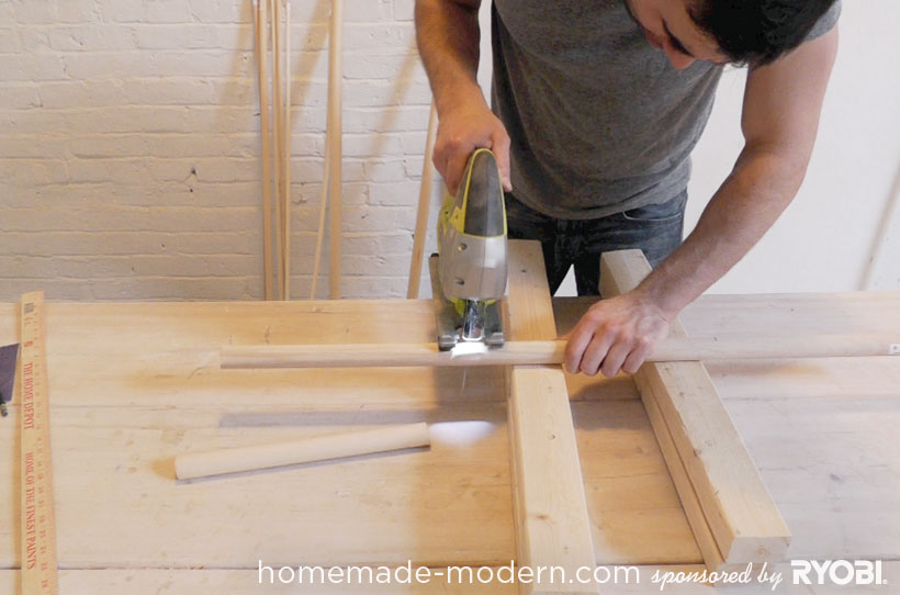 HomeMade Modern DIY EP18 Puzzle Stool Step 9