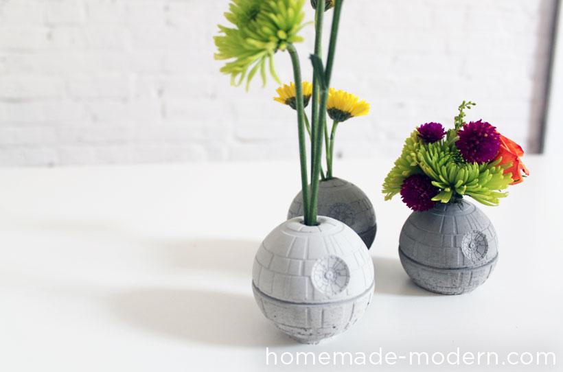 HomeMade Modern DIY EP22 The Death Star Vase Options