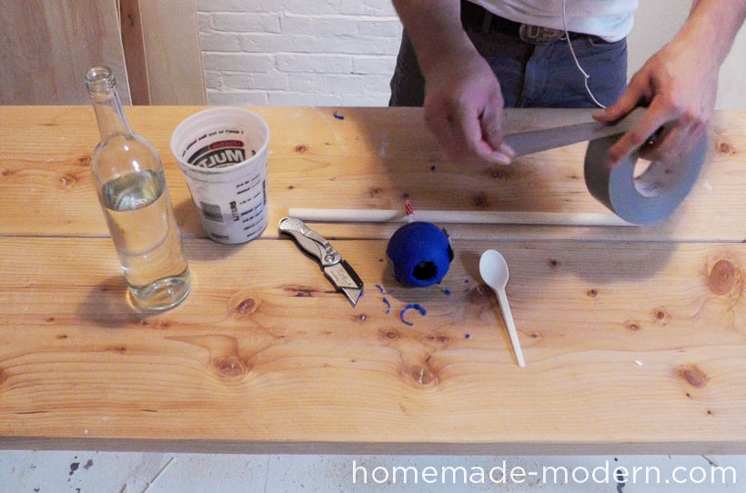HomeMade Modern DIY EP22 The Death Star Vase Step 3
