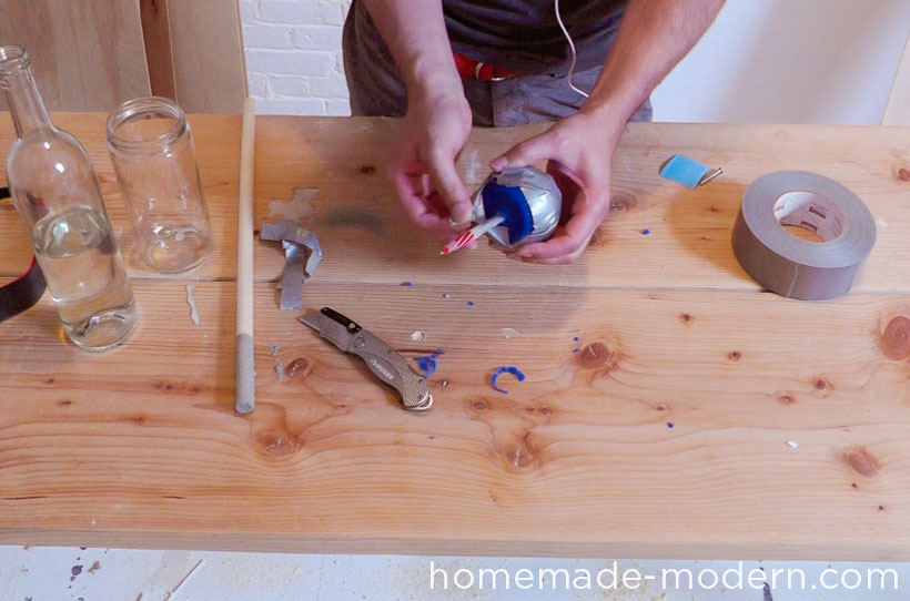 HomeMade Modern DIY EP22 The Death Star Vase Step 6