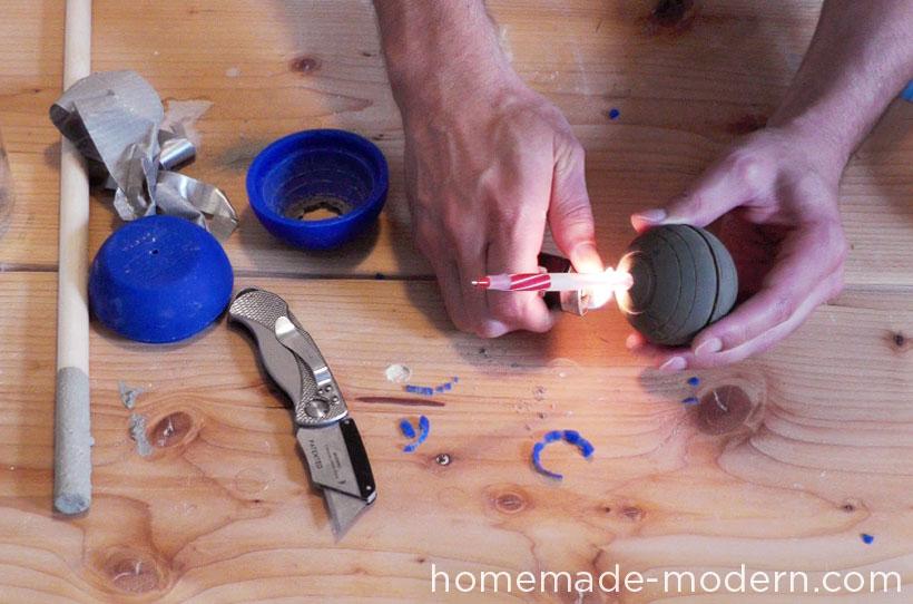 HomeMade Modern DIY EP22 The Death Star Vase Step 6