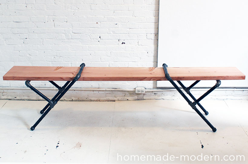 Homemade Modern Ep23 Pipe Bench