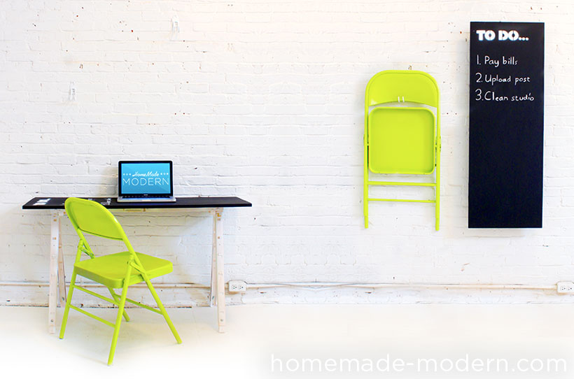 Homemade Modern Ep24 The Fold Up Office