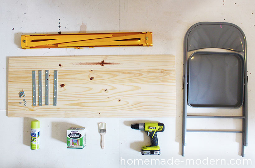 HomeMade Modern DIY Pipe Bench Supplies