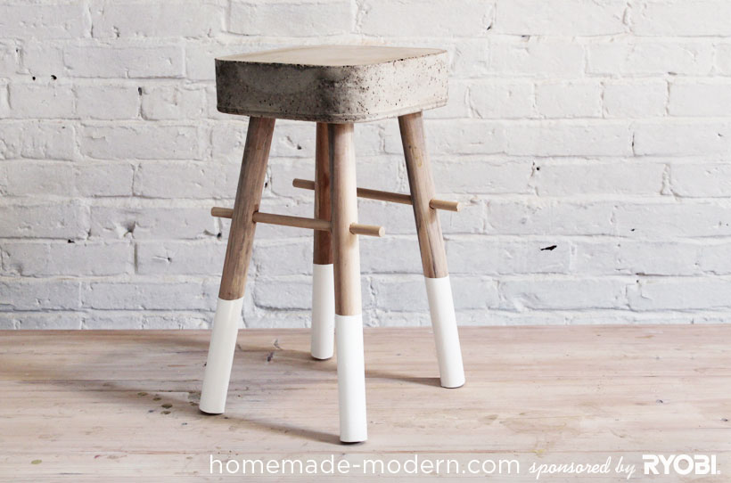 HomeMade Modern DIY EP8 $5 Bucket Stool Revisited