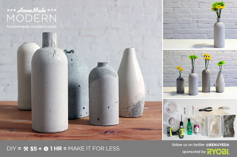 Ep27 Concrete Vases Homemade Modern