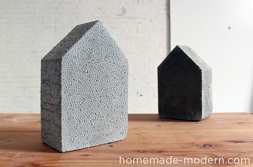 HomeMade Modern DIY EP25 Concrete Bookends Options