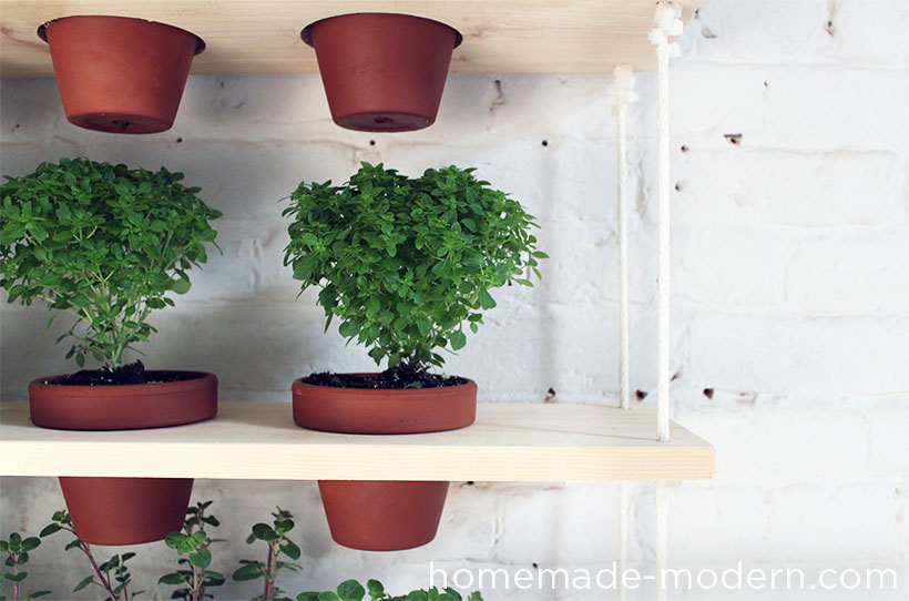 HomeMade Modern DIY Hanging Garden Options