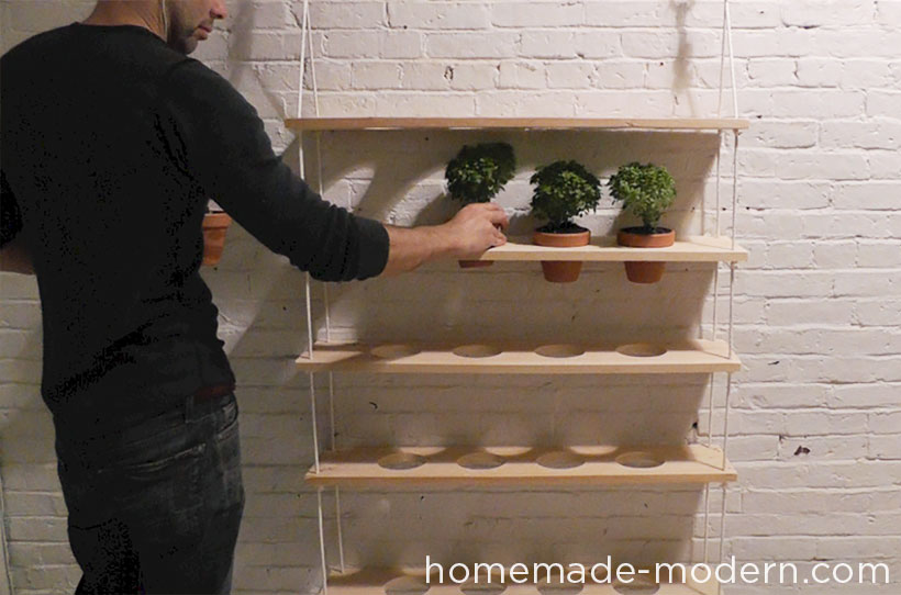 HomeMade Modern DIY ep29 Hanging Garden Step 10
