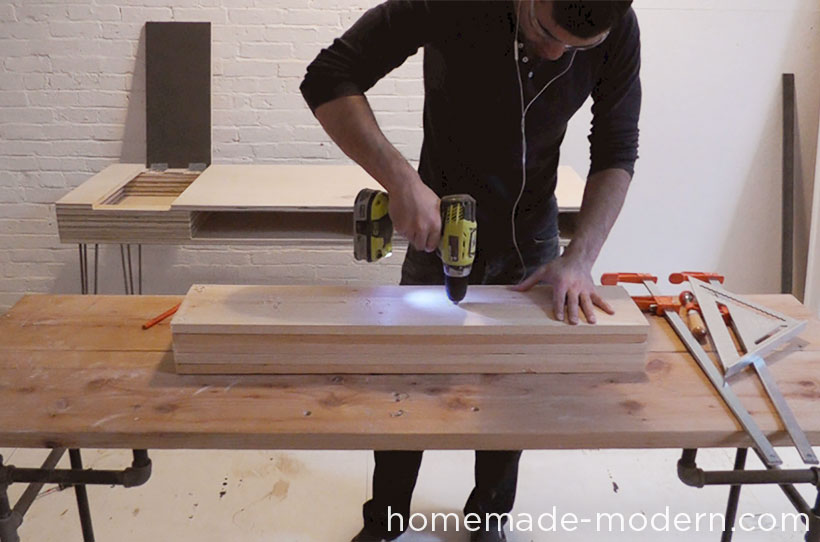 HomeMade Modern DIY ep29 Hanging Garden Step 3