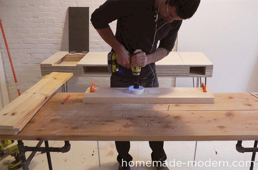 HomeMade Modern DIY ep29 Hanging Garden Step 4