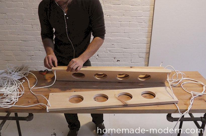 HomeMade Modern DIY ep29 Hanging Garden Step 7