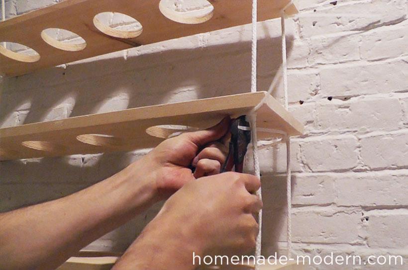 HomeMade Modern DIY ep29 Hanging Garden Step 9
