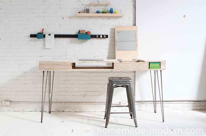 HomeMade Modern DIY The Flip Desk Options