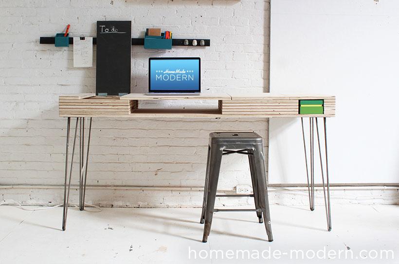 HomeMade Modern DIY The Flip Desk Options