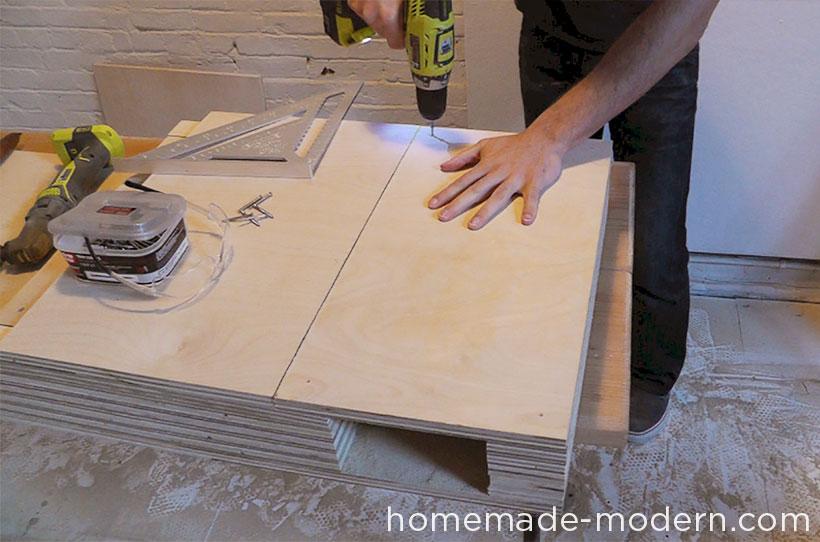 HomeMade Modern DIY EP30 The Flip Desk Step 10