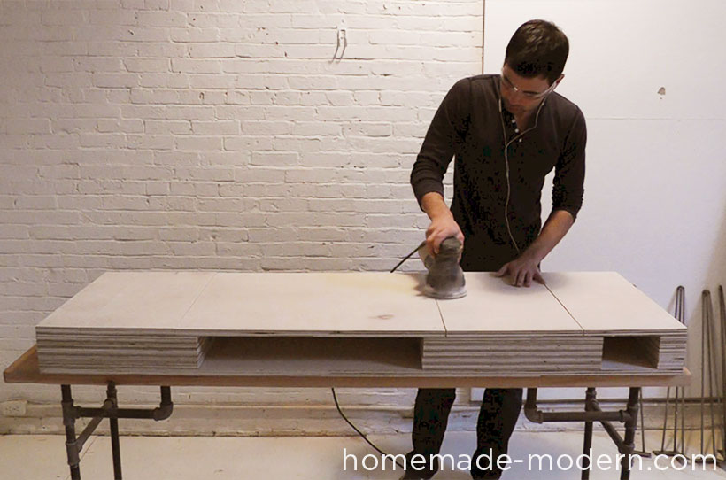 HomeMade Modern DIY EP30 The Flip Desk Step 11