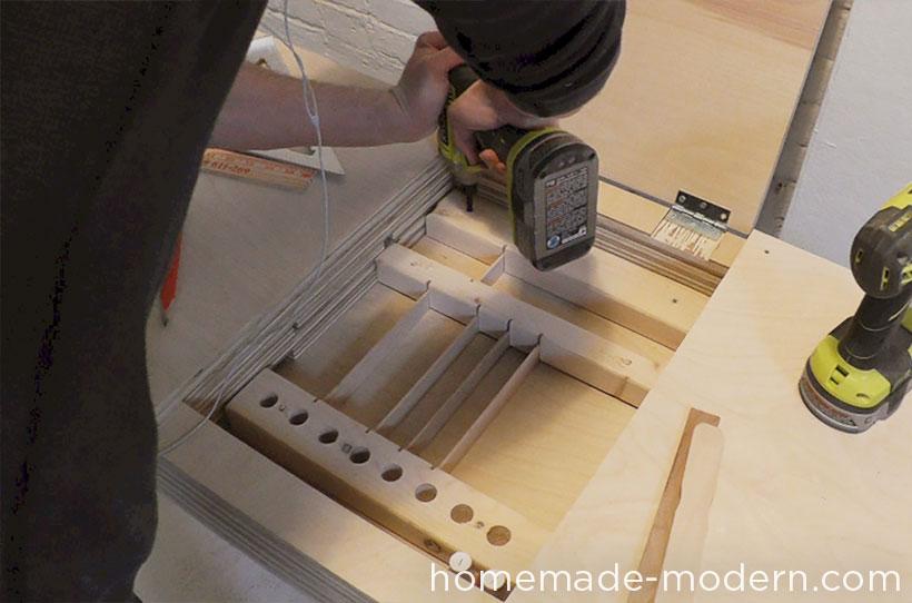 HomeMade Modern DIY EP30 The Flip Desk Step 13