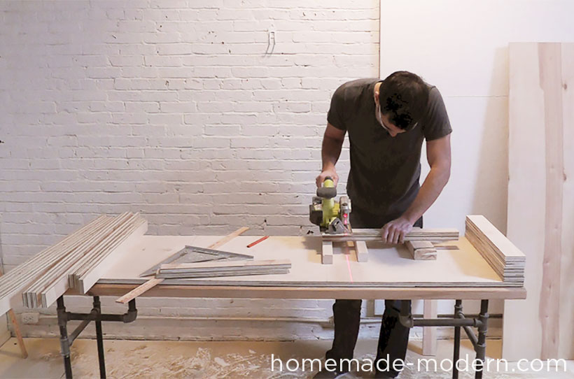 HomeMade Modern DIY EP30 The Flip Desk Step 3