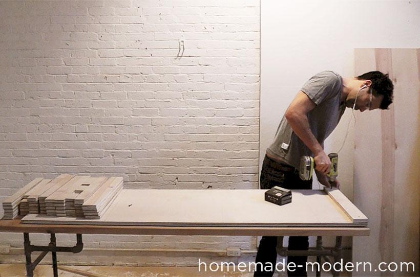 HomeMade Modern DIY EP30 The Flip Desk Step 4