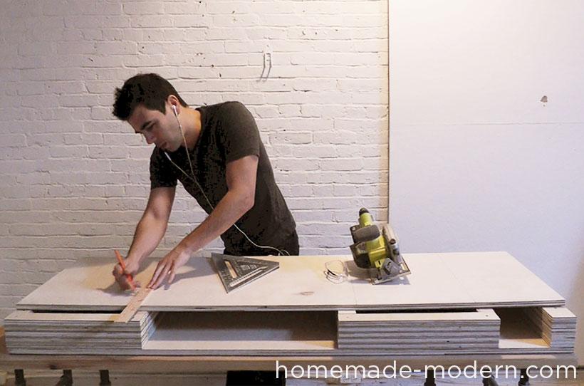 HomeMade Modern DIY EP30 The Flip Desk Step 5