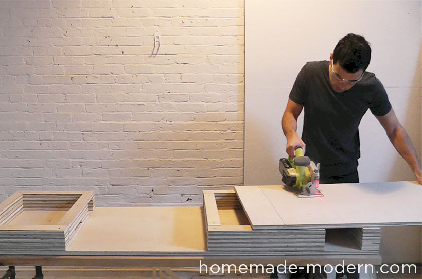 HomeMade Modern DIY EP30 The Flip Desk Step 5
