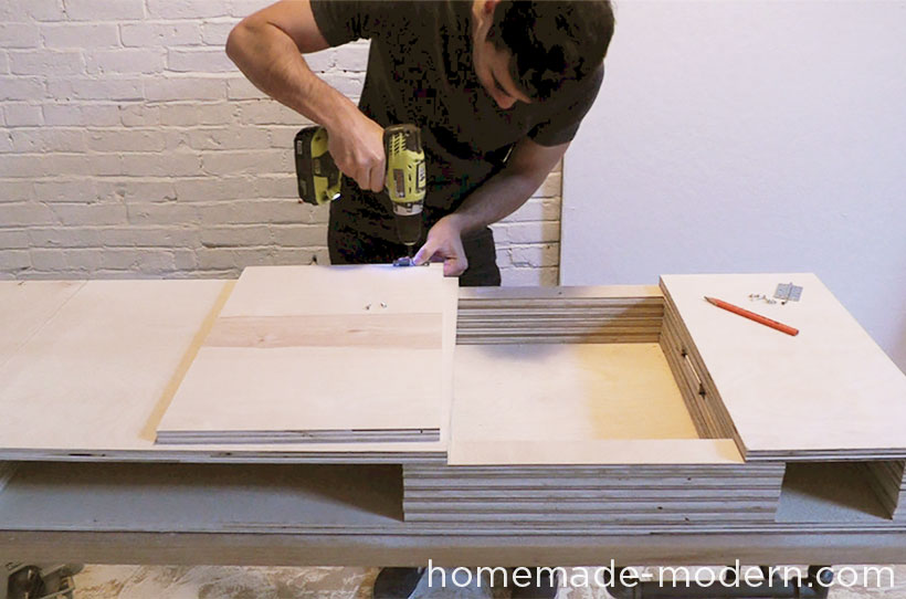HomeMade Modern DIY EP30 The Flip Desk Step 6