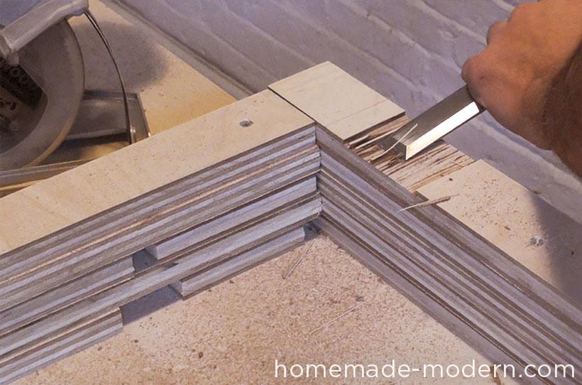 HomeMade Modern DIY EP30 The Flip Desk Step 8