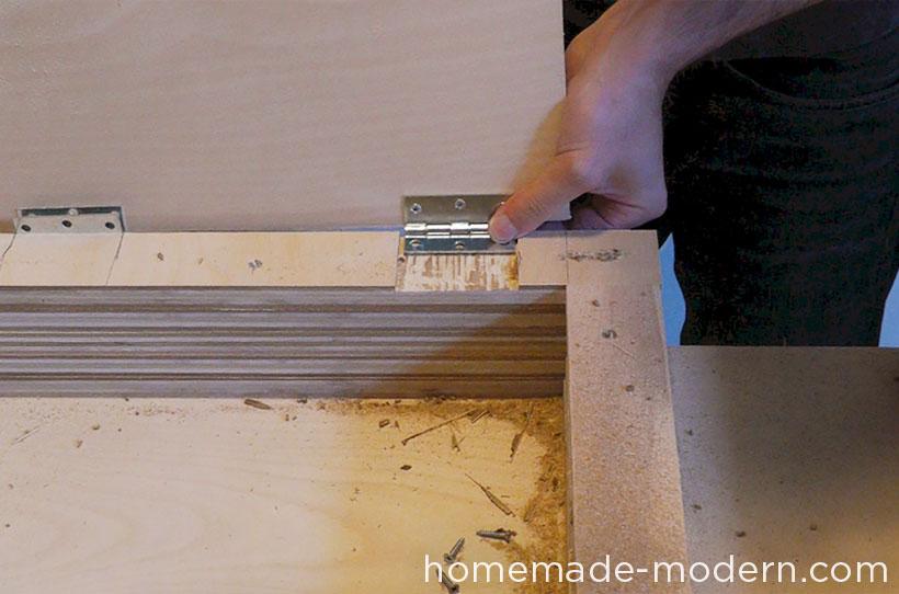 HomeMade Modern DIY EP30 The Flip Desk Step 9