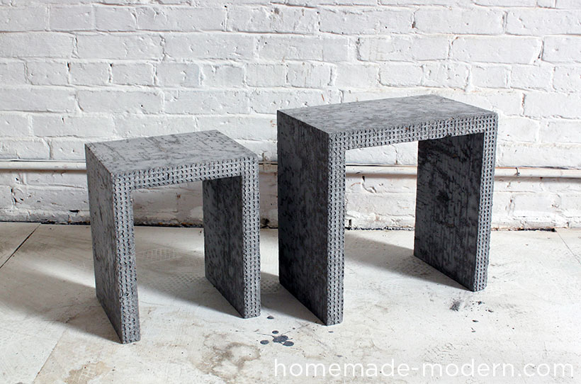 Homemade Modern Ep34 Concrete Nesting Tables