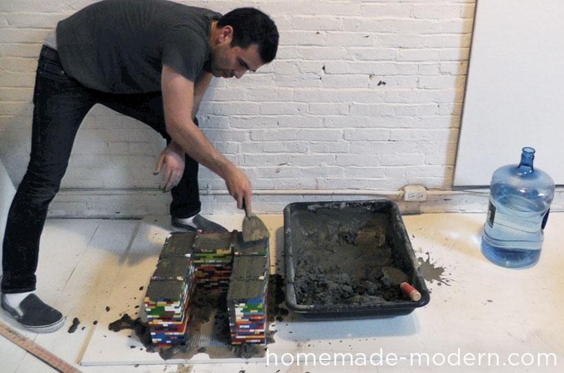 HomeMade Modern DIY EP34 Concrete Nesting Tables Step 3
