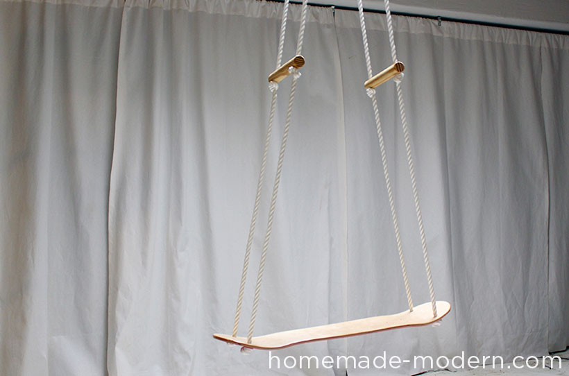 HomeMade Modern DIY EP35 The Skate Swing Options